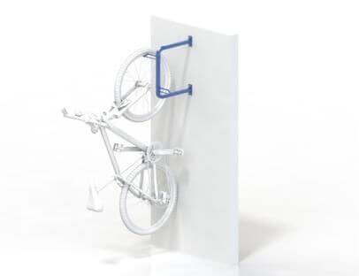 Securabike Vertical Wall Mounted 2 Bike Rack Bike Parking Nz
