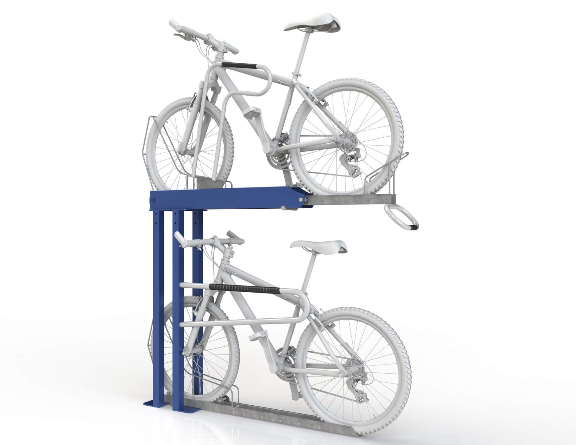 Securabike Double Height 2 Bike Rack Bike Parking Nz